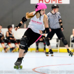 The St. Lunachix defeated the St. Chux Derby Chix Pack in Black in unsanctioned WFTDA play.